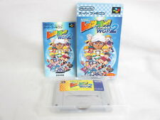 LET'S AND GO WGP 2 Mini 4wd Item Ref/C Super Famicom Nintendo Japan Boxed sf