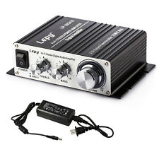 Lepy LP-2024S 25W*2 Hi-Fi Class-T Digital Audio Amplifier AMP w/ 5A Power Supply