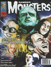 FAMOUS MONSTERS de Filmland #277 YOUNG FRANKENSTEIN THIS ISLAND EARTH EVIL DEAD
