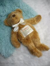 Avon Me & My Mommy Plush Bear Stuffed Animal w/Place for Photo Keepsake on heart