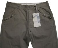 New Mens Green Tapered NEXT Trousers Waist 32 Short RRP £38