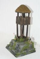 Wikinger Wachturm Kyyres, 3221, auf Base zu 4 cm Sammelfiguren, Fertigmodell