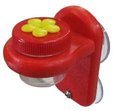 Nectar DOTS Window Hummingbird Feeder Yellow and Red WD-1, 2 Large DOTS