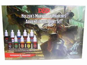 Warpaints: D&D Adventurers Paint Set + Miniatur