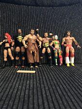 Lote De Figuras WWE NXT Elite Paquete X6 de trabajo