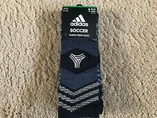 Adidas Tango Soccer Crew Socks Mens Size L Black Grey Gold Color 1 Pair