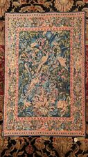"""Aristoloches French Verdure Wall Tapestry by Tapisseries du Lion 27"""" x 40"""""""