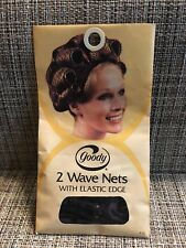 Brand New Vintage Goody 2 Wave Nets With Elastic Edge - Usa 1973