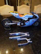 Vintage rc car thunder tiger Ducati rc 3 inch stretched swingarm only pro street