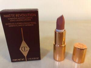 Charlotte Tilbury Matte Revolution Lipstick PILLOW TALK Original 1.1g mini BNIB