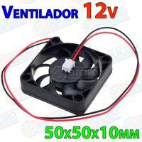 Ventilador 5010 12v Fan 50x50x10mm 50mm impresora 3D - Arduino Electronica DIY
