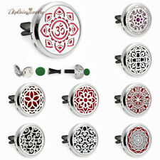 Mix-Window flower Alloy Car Vent Clip Aromatherapy Essential Oil Diffuser Locket