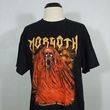 MORGOTH Resurrection Absurd T-Shirt Black Men's size L (NEW)