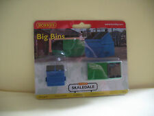 "Hornby Skaledale R8755  Big  Bins    ""00"" Scale"
