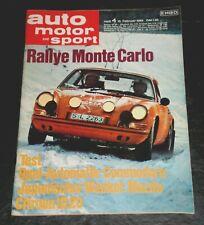 Auto Motor Sport 04/69 Citroen ID 20, Mazda Rotary 100 Coupé, Opel Commodore
