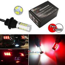 White/Red Switchback LED Backup Light & Rear Fog Lamp Kit For 15-up Ford Mustang