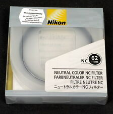 Nikon 62mm Neutral Color NC Filter - Brand New in Box