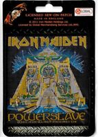 Official Merch Woven Sew-on PATCH Heavy Metal Rock Eddie IRON MAIDEN Powerslave