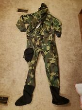 Dui Aaops Woodland Camo Dry Suit (Diving Unlimited Int.) Swicc Seal Ranger