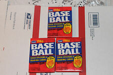 1986 Fleer  Baseball Packs!! Vintage unopened Lot.