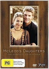 MCLEOD'S DAUGHTERS COMPLETE SEASON 5 FIVE DVD 7 DISC SET DRAMA REG 4 NEW+SEALED