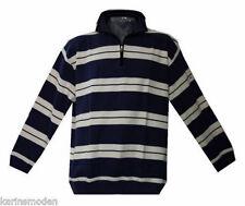XXL Übergrößen Herren Greystone wow Sweatshirt Troyer Zipper Pullover