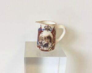 RACHEL MUNDY ENGLISH ROYAL FAMILY KING EDWARD JUG  DOLLS HOUSE DOLLHOUSE