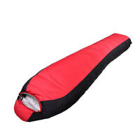 1500G Duck Down Outdoor Camping Sleeping Bag Splicable Hiking Travel -10-0 °C