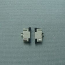 5pcs FFC/FPC connector flat connector 0.5mm 1.0mm pitch top  bottom contact