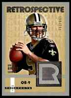2006 Fleer Hot Prospects Retrospective /699 Drew Brees NMMT New Orleans Saints