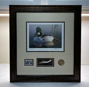 RW80 2013 - Federal Duck Stamp Print **ROBERT STEINER** NICELY FRAMED!
