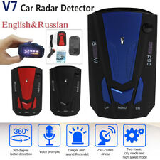 Car V7 Cobra Anti-Polices GPS Camera Laser Radar Detector Voice Alert Warning