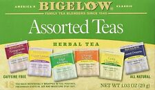 Bigelow Assorted Herbal Teas, Tea Bags, 18 Ct