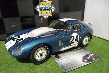 SHELBY COBRA DAYTONA Coupé #24 Bondurant WINNER Coppa Enna 1965 1/18 EXOTO 18012