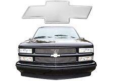 All Sales 96017P 1994-1999 Chevy C/K 1500 2500 3500 Polished Billet Bowtie New