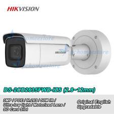Hikvision DS-2CD2635FWD-IZS 3MP H.265 Ultra-Low Light Vari-focal Bullet Camera