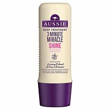 3x Aussie 3 Minute Miracle Shine Daily Deep Treatment 250ml for Dull Tired Hair