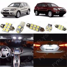 14x White LED Interior Lights Package Kit for 2007-2012 Acura RDX + Tool AR2W