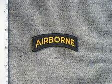 1968 TIOH sample Airborne Tab - yellow & black (Merrowered - no plastic) by Best