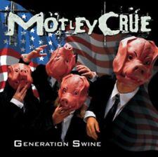 Motley Crue Generation Swine 5 Extra Tracks CD NEW unsealed