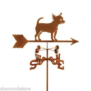 Dog - Chihuahua Weathervane Weathervane - Complete w/ Choice of Mount