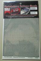 CHECKERBOARD UPHOLSTERY 1:24 1:25 SCALE MOTORSPORT MODEL ACCESSORY 1960