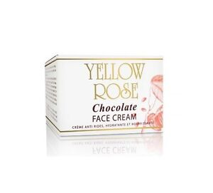 Yellow Rose Chocolate Face Cream against signs of aging Prof. Size 250ml EU