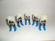 PLAYMOBIL 5 piezas PIERNAS NEGRO ATADO Azul Zapatos GALO kelte ROMANO 4677