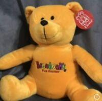 "Boondocks Golf Plush Bear NWT 12"" Gift Souvenirs Loveland Colorado Arcade"
