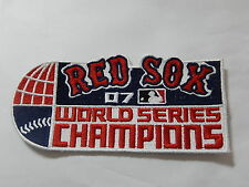 "BOSTON RED SOX - WORLD SERIES CHAMPIONS - ""2007""  Game Jersey PATCH New"