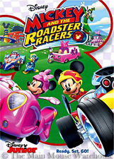Mickey Mouse Clubhouse Mickey and the Roadster Racers Car Kart Race Racing DVD
