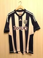 West Bromwich Albion 2012/2013 Home Size L Adidas football shirt jersey soccer