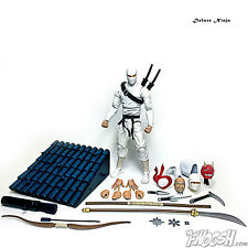 Fwoosh Articulated Icons Feudal Series Deluxe Ninja White G.I. Joe Storm Shadow