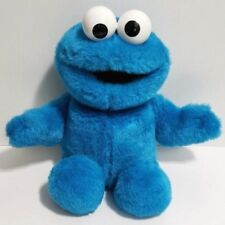 "Vintage 1997 Tyco Talking Tickle Me Cookie Monster Stuffed Plush Toy 15.5"" EUC"